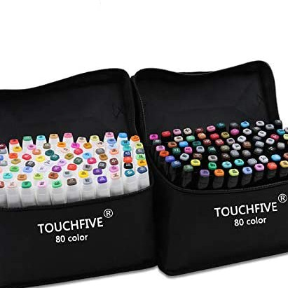 Markers Touch 40//60//80 colors Touch Art Sketch Twin Marker Pens Animation Design