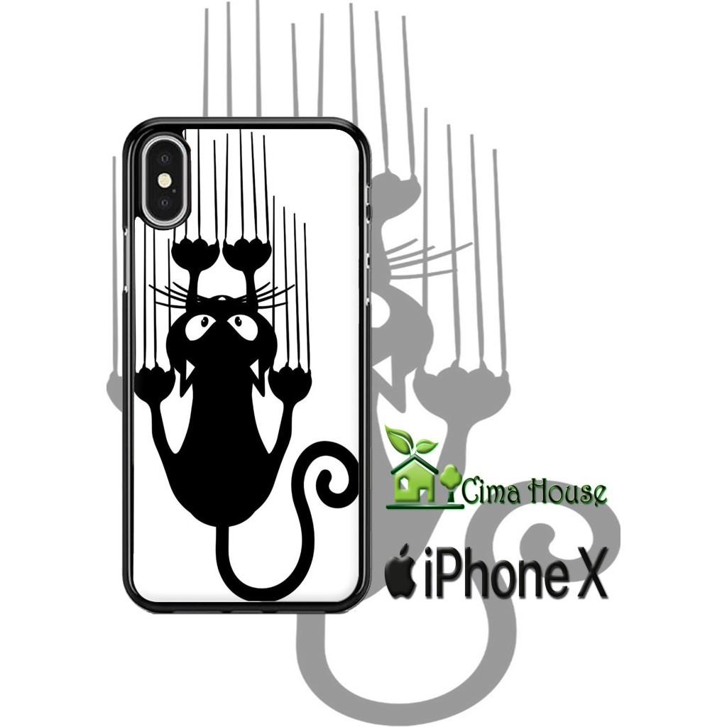 Cat Lovers Wallpaper Lucu Custom Premium Hard Case Unik Iphone X