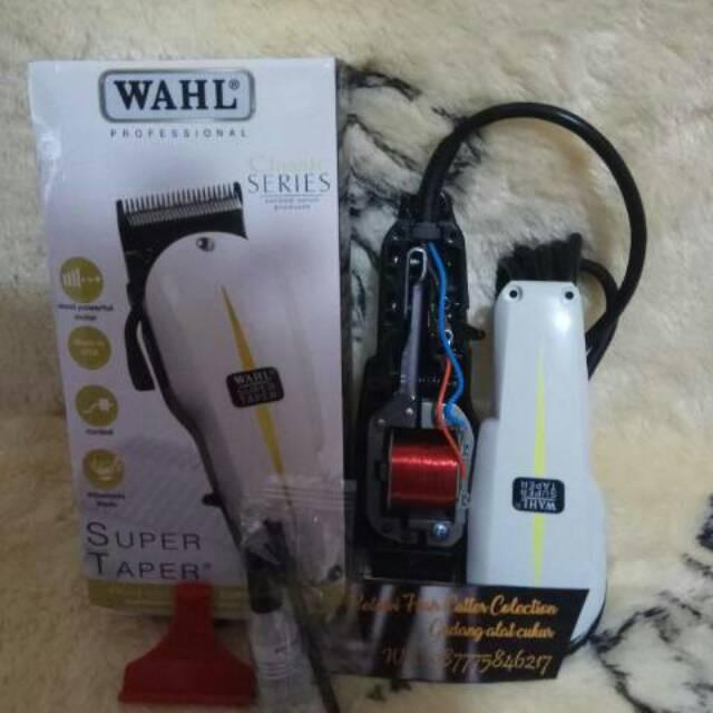 Alat pencukur rambut WAHL super taper tipe 8647 USA alat cukur rambut mesin  hair clipper ASLI  bbc67d8006