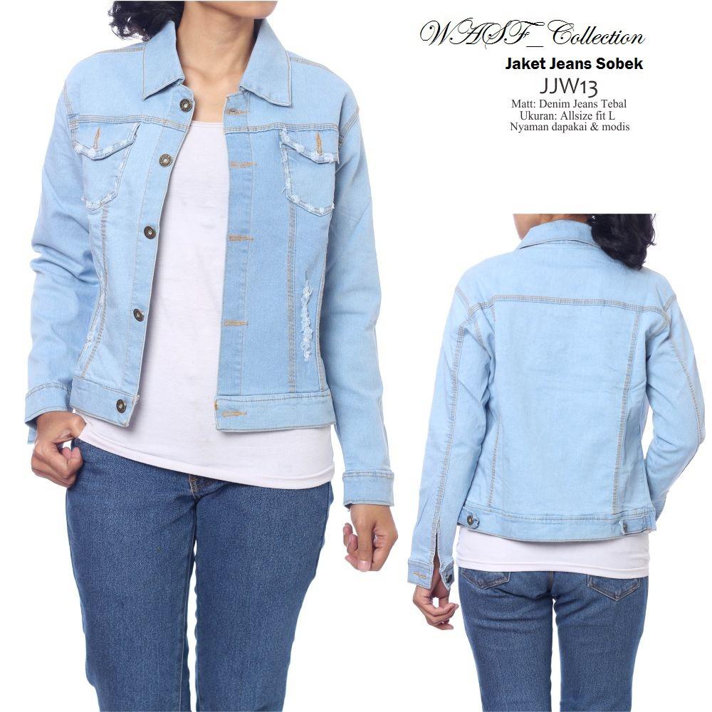 Promo Free Ongkir Jaket Jeans Cowok Bioblitz Levis Biru Merah Maroon Warna Denim Jacket Pudar Muda Shopee Indonesia