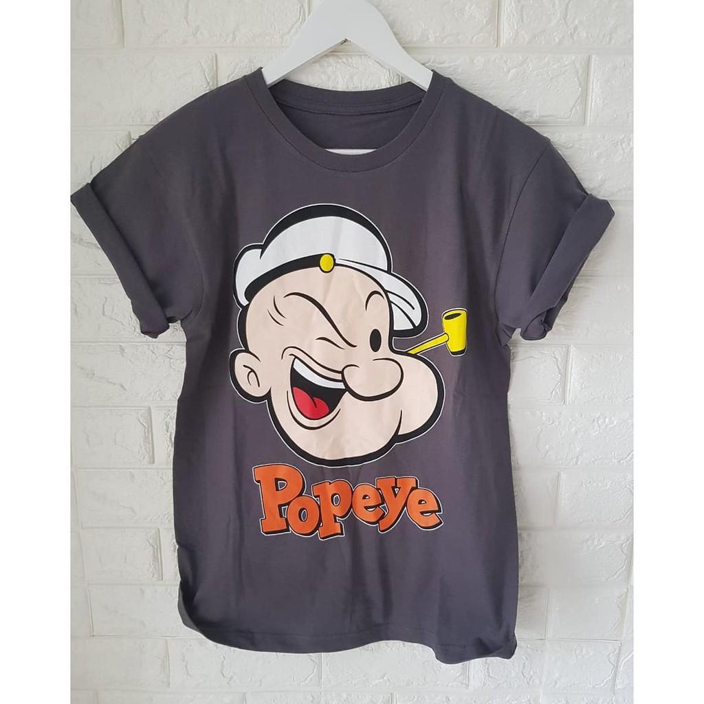 Kaos Popeye Kartun Lucu