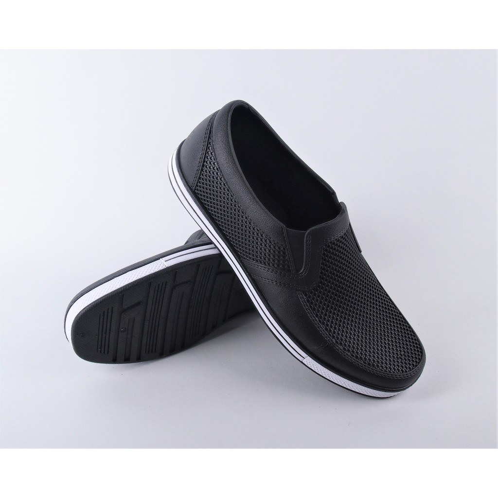 Sepatu Casual Pria Slip On Kulit Asli Hand Made Men Genuine Leather shoes Men Popular casual shoes | Shopee Indonesia