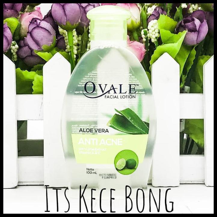 Ovale Face Lotion Anti Acne Aloe Vera 100Ml