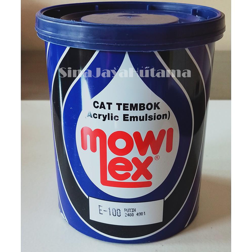 Sjh Cat Tembok Interior Mowilex Acrylic Emulsion Warna Putih E 100 1 Kg Murah Berkualitas Tinggi Shopee Indonesia Harga cat mowilex 1 kg