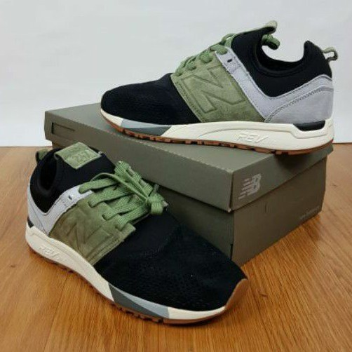 new Balance 247 green sepatu pria sneakers pria