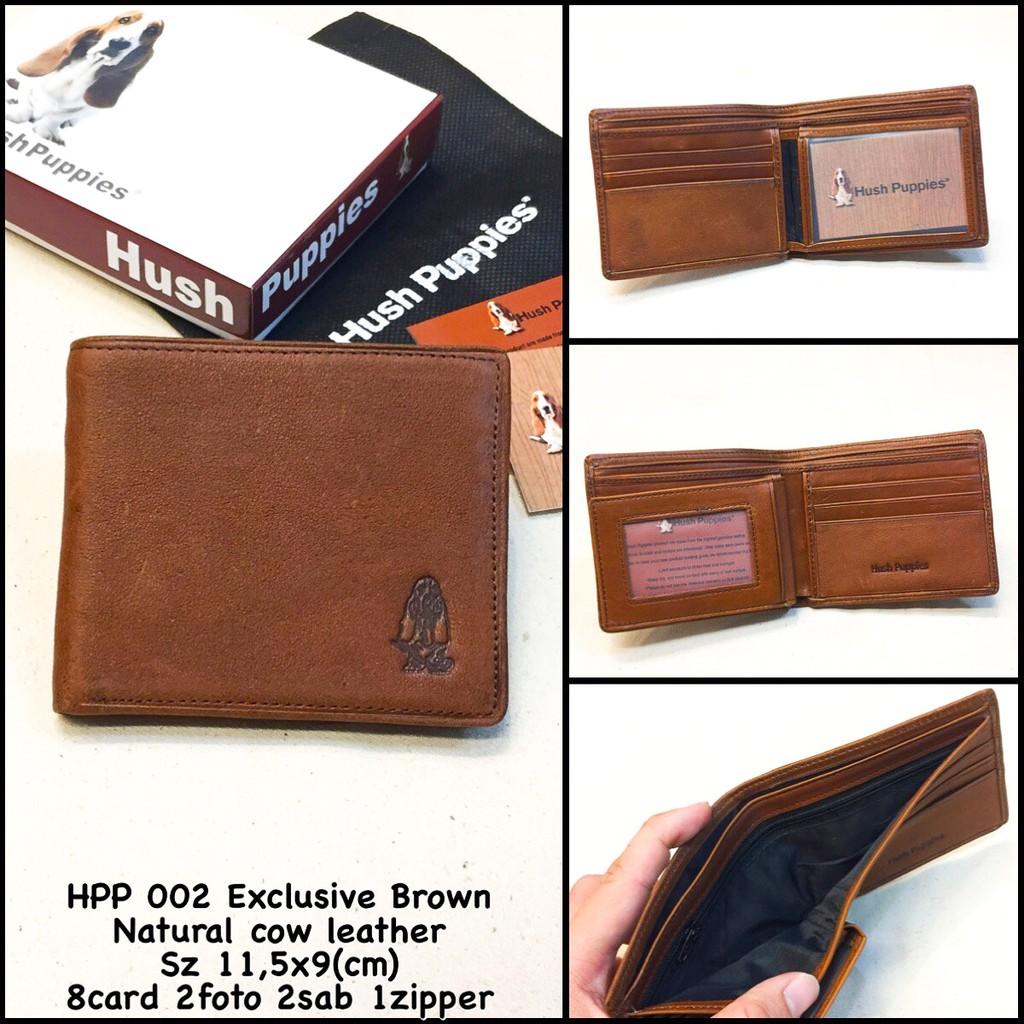 dompet pria hush puppies kulit branded series dompet cowok premium lipat  murah kado hadiah sale  450c0b6491