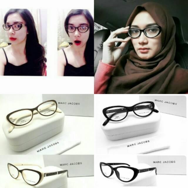 Kacamata Wanita Cat Eye BIANCA Fashion Branded Murah Bisa Pasang Minus Plus  Silinder Progressive  29ae0e3870