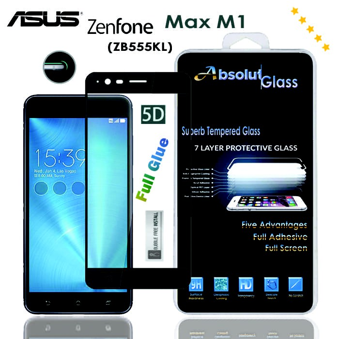 Tempered Glass Vivo V11 V11 Pro - 5D Absolut Glass Full Glue Full Lem Full Black