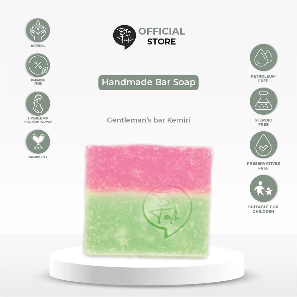 BioTalk Sabun Shampoo Natural Herbal | Gentleman's Bar Shampoo Soap | Kulit Normal |120 gram-2