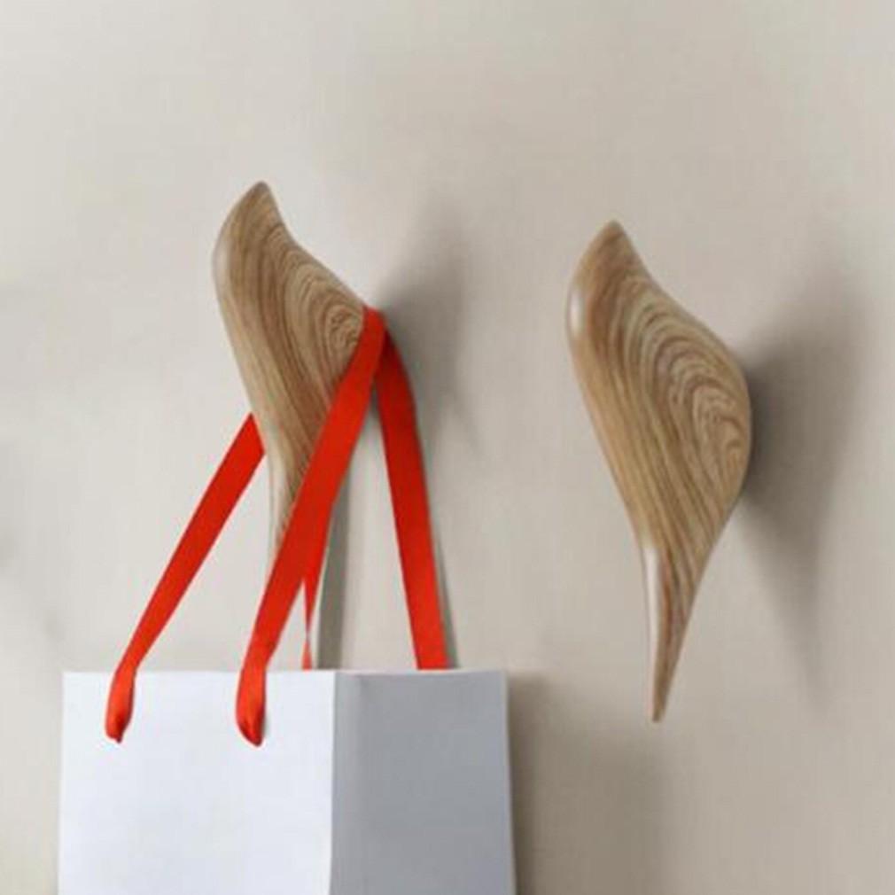 100pcs Adhesive Hooks Wall Hooks Strong Adhesive Hooks Seamless Transparent Hook | Shopee Indonesia