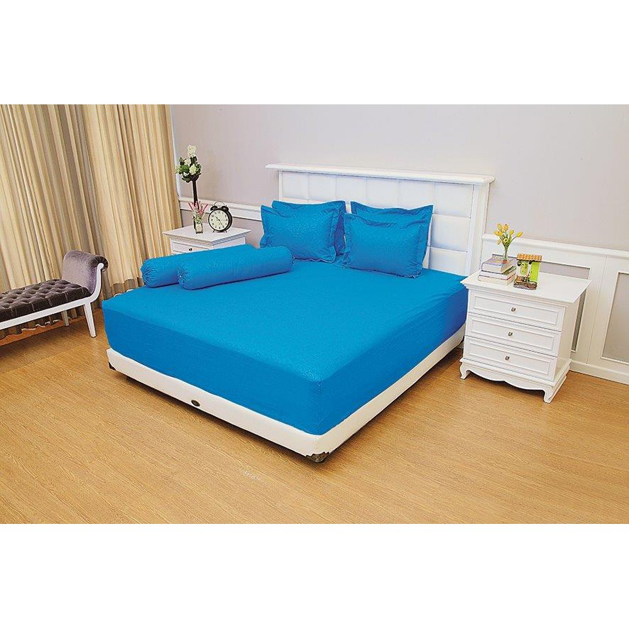 WW Sprei Tinggi 30 Cm Vallery 200 TOSCA Super King 200x200 Extra T30 Bantal 2 Valery | Shopee Indonesia