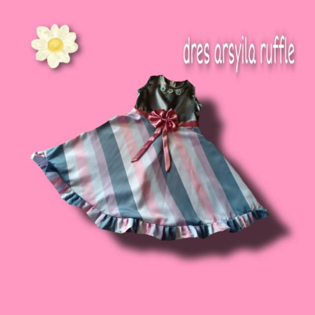 Dress anak Arsyila ruffle