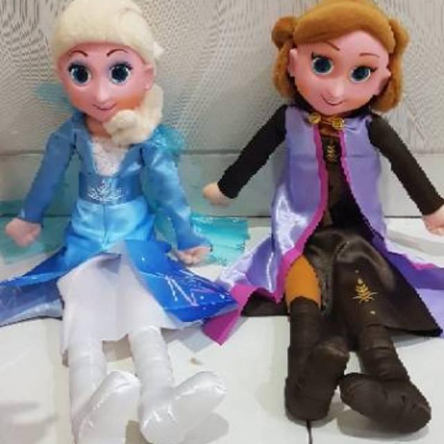 Boneka Frozen Elsa Anna Frozen Shopee Indonesia