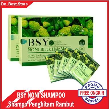 BSY NONI Shampoo Penghitam Rambut Alami / Black Hair Magic Asli