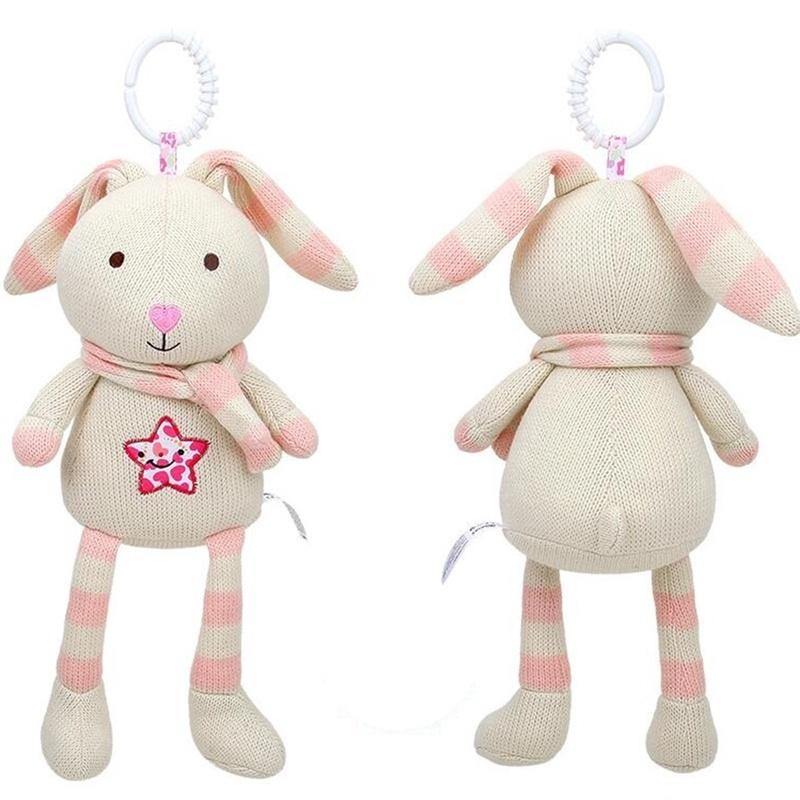 Puppy Makes Mischief Stuffed Animal, Cute Infant Baby Appease Rabbit Elephant Sheep Unicorn Plush Toy Girl Comfort Pacify Dolls Cartoon Stuffed Stroller Toys Gift Shopee Indonesia