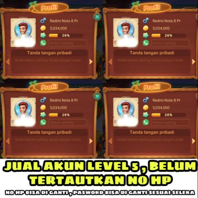 Jual Akun Level 5 Shopee Indonesia