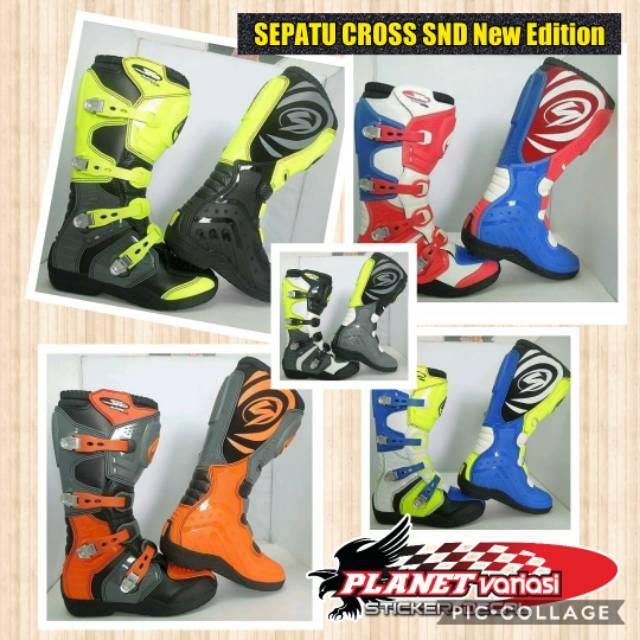 Sepatu Cross Trail Oneal Element IV Boot US Blue Red Ukuran 45 ... 81bd8dcfa0