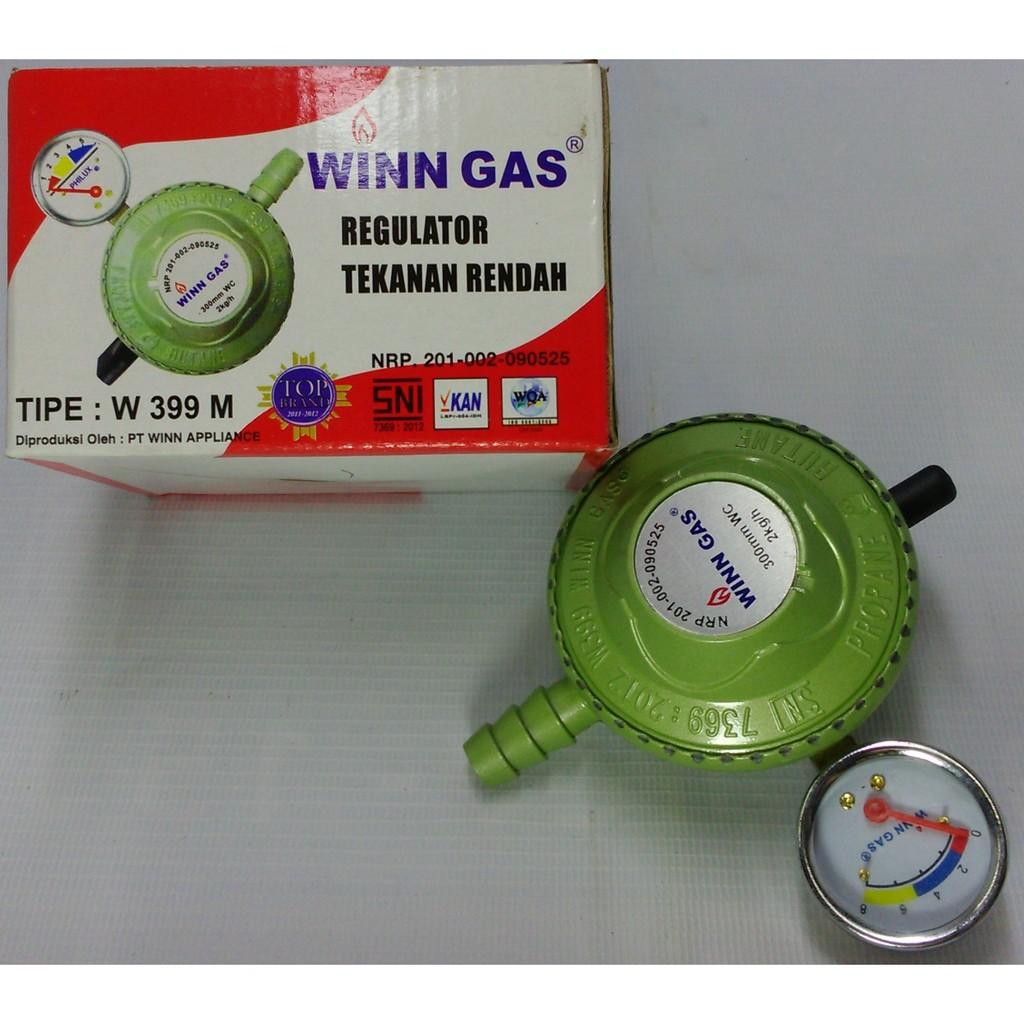 Regulator Gas Winngas Winn High Pressure W 181nm Shopee Indonesia Paket Premium Top Brand Selang Selongsong Besi Sni Garansi Resmi