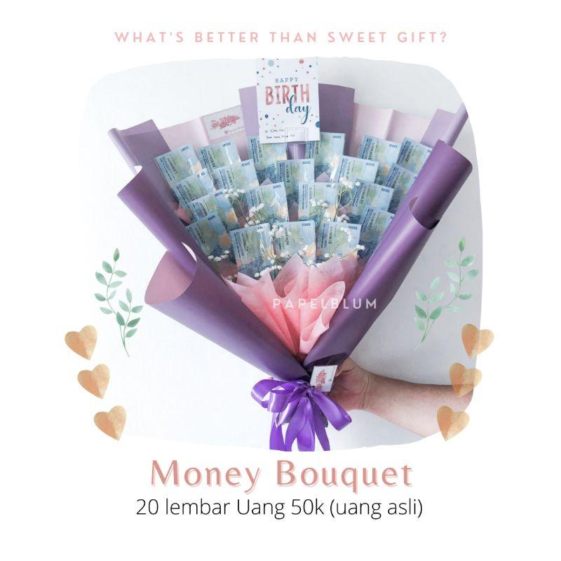 Money Bouquet buket uang JASA ONLY