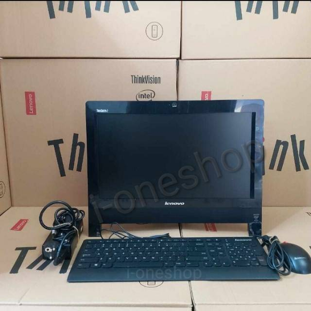 Pc Lenovo All In One Think Ccentre Edge 62z Intel Core I3 3220 3 3ghz Shopee Indonesia