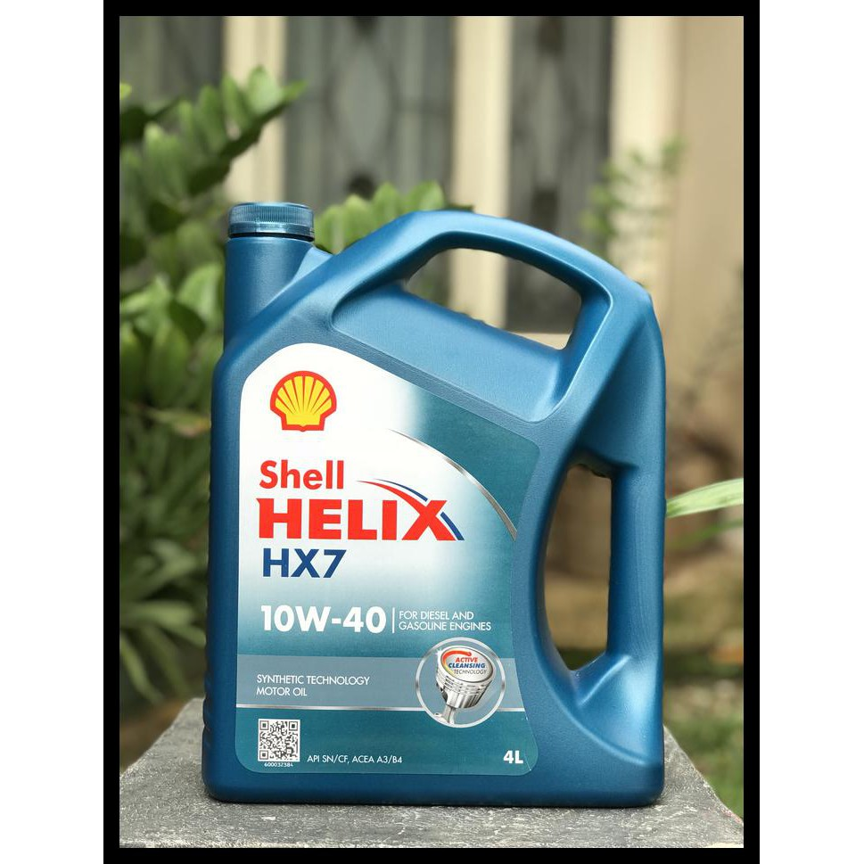 Baru Shell Helix Hx7 Sae 10W 40 100 Garansi Original Paling Murah Promo Ramadhan