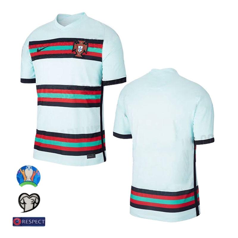 Portugal Kaos Jersey Pria Lengan Pendek Model Portugal Football 2020 2021 Shopee Indonesia