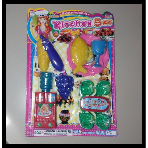 Terbaru Masak Masakan Perlengkapan Rumah Tangga Barbie Mainan Anak Perempuan Shopee Indonesia