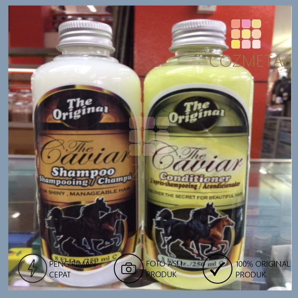 Shampoo Conditioner The Caviar Original isi 250ml Shampo Kondi Kuda-1