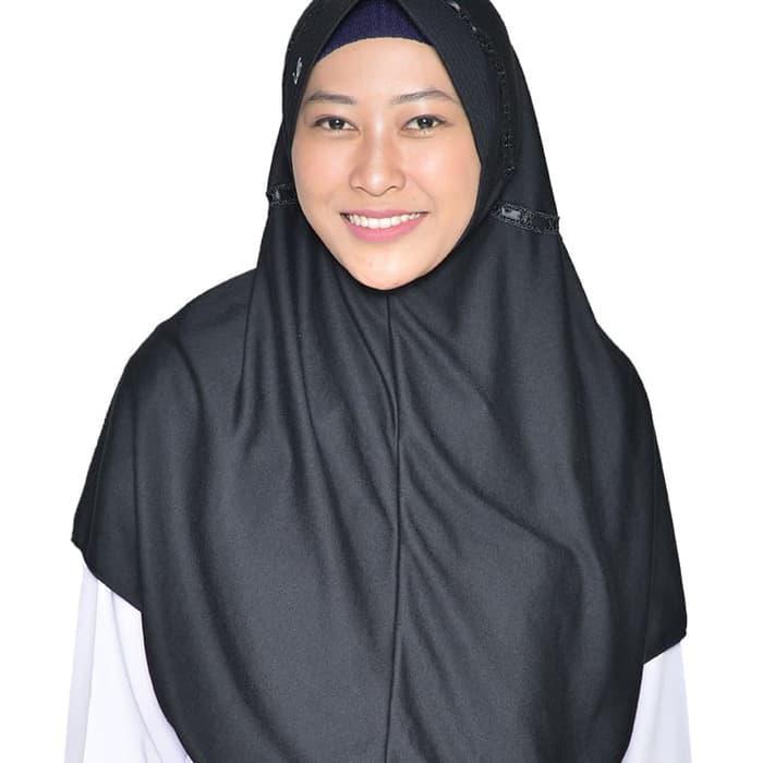 Terbaru Hemy M Rabbani Kerudung Sekolah Jilbab Hijab Bergo Khimar Scarf Best Putih Bergaya Shopee Indonesia