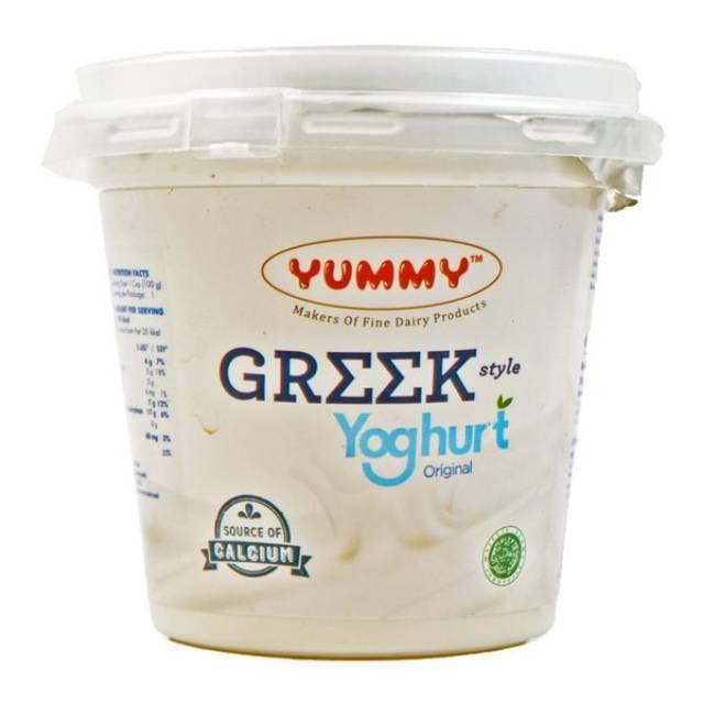 Yummy Greek Yogurt Plain 500 gram