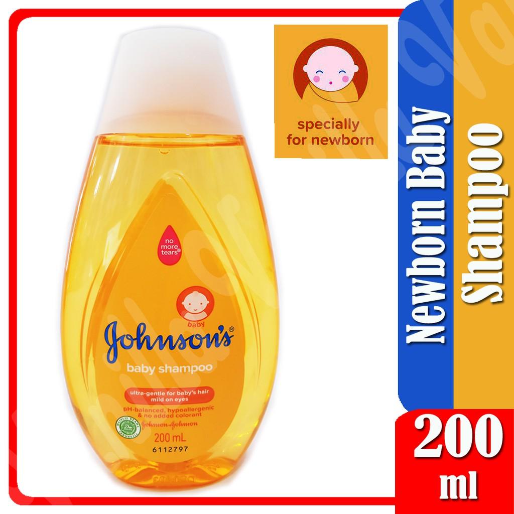 JOHNSON'S Baby Shampoo 200ml Shampo Bayi dan Anak-Baby Shampoo