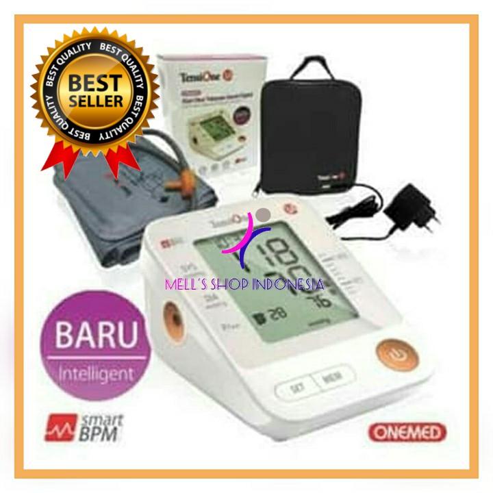 Tensimeter Digital / Tensi Digital / Alat Tensi Darah / Tensimeter / TensiOne 1A + Adaptor OneMed