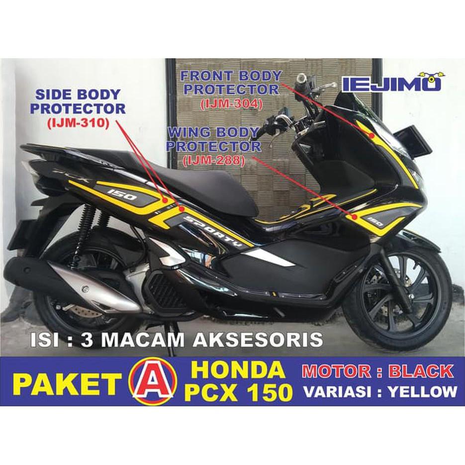 Paket Aksesoris All New Honda PCX 150 Lokal 2018 Original   Shopee Indonesia