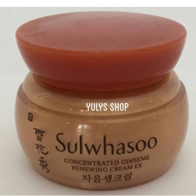 PROMOO Sulwhasoo Concentrated Ginseng Renewing Cream Ex 5ml