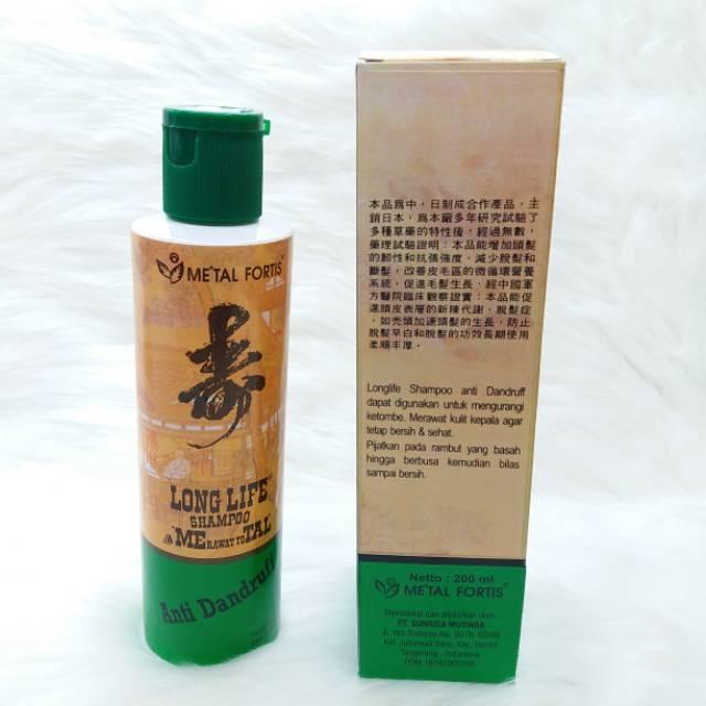 Shampoo Metal Fortis Hijau Shampoo Anti Ketombe 200ml Bpom Shopee Indonesia