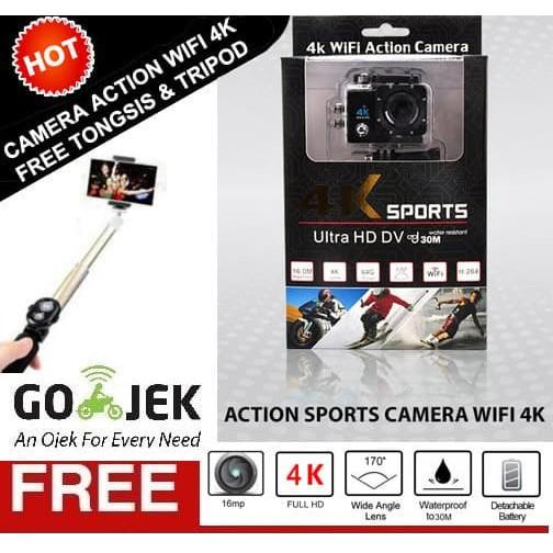 Xiaomi Yi Mark II 2 4K Ultra HD international Action Camera Sports with Waterproof Case Cover Orig | Shopee Indonesia