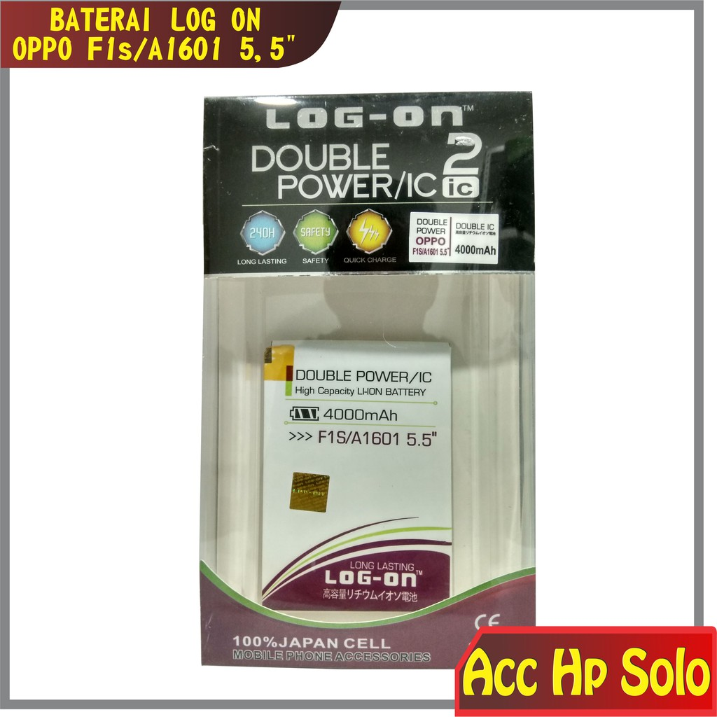 Baterai Batere Oppo F1S A59 A1601 Double Power IC Protection ...