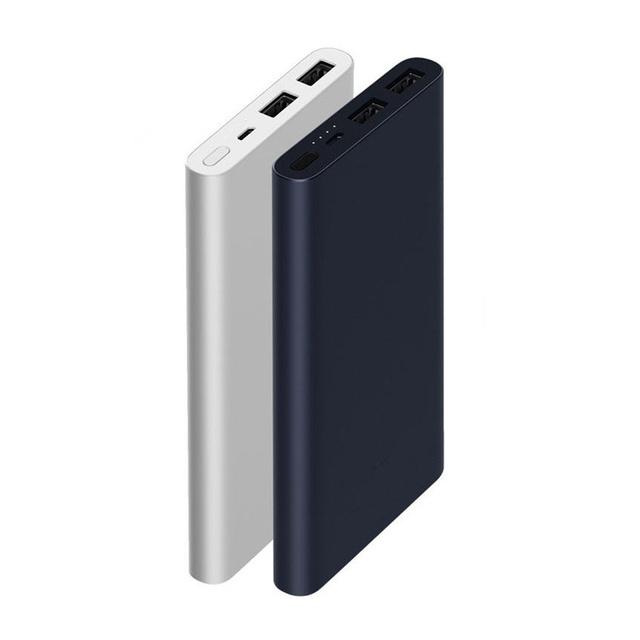 [ COD ] Powerbank 2018 XIAOMI Dual USB 2s- 2i -10000mAh Fast Charging 2 Output Original Grs