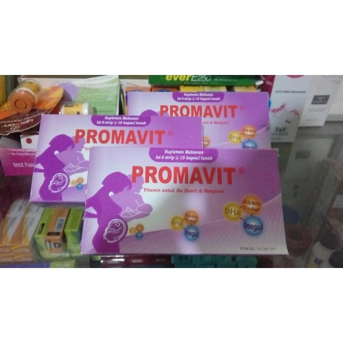 Promavit Vitamin Ibu Hamil Dha Bayi Pintar Shopee Indonesia