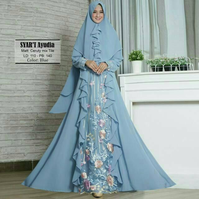 Baju Muslim Bayi Baru Lahir Perempuan Gamis Wulan - Smart4K Design Ideas bb597d6a58