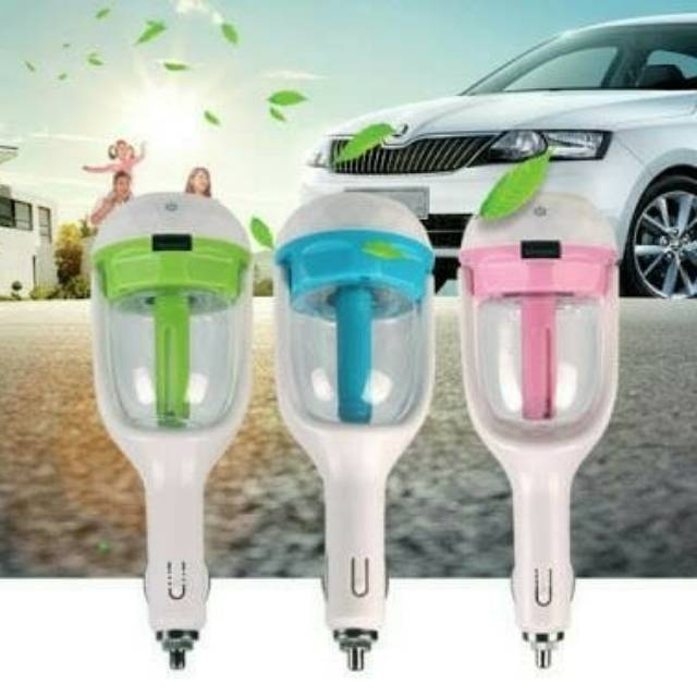 Aroma Terapi kreatif Humidifier Charger Mobil. New Arrival | Shopee Indonesia