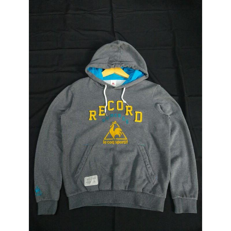 Hoodie sweater jaket Le coq sportif