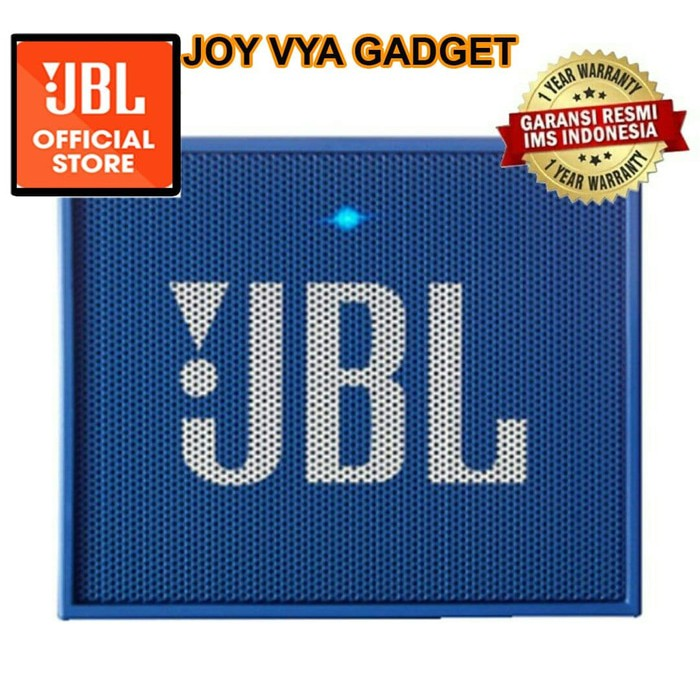 JBL GO PORTABLE BLUETOOTH SPEAKER - ORIGINAL GARANSI RESMI IMS - HITAM - BIRU SPEAKER | Shopee Indonesia