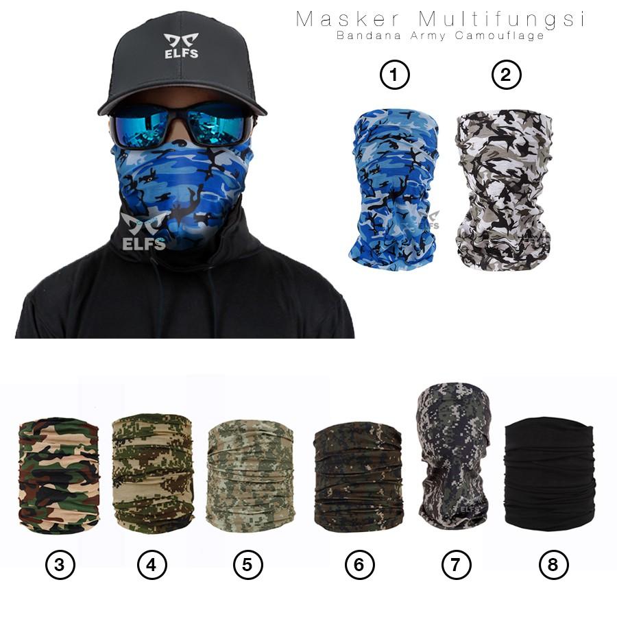 Grosir Buff Masker Bandana Murah Min50pcs Shopee Indonesia Serbaguna