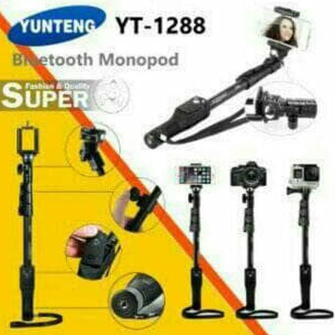 Tongsis Bluetooth/Monopod Yunteng Yt-1288 Original