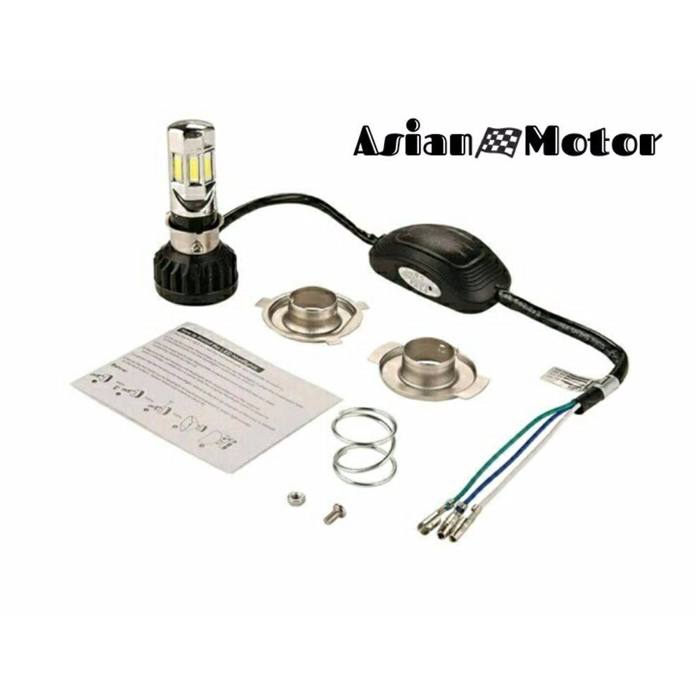 Lampu Utama Headlamp Led Rtd M02e 6 Sisi Original Daftar Update Atau Motor A0400