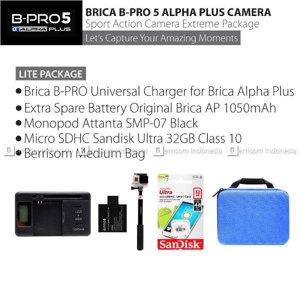 Baterai Batre Brica Bpro Alpha Plus Action Camera Original | Shopee Indonesia