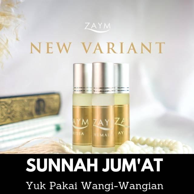 Parfum Non Alkohol Zaym Original Berkualitas Merk Zaym Paket isi 3 Botol Beda Wangi | Shopee
