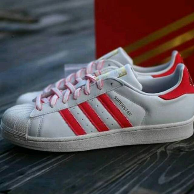the latest 1b9c8 8ff48 Adidas Superstar CNY Pack Chalk White Red