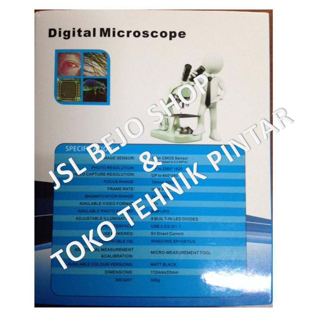 Newlife Mikroskop 8 Led 1000x Usb Digital Microscope Endoscope Obral Eazzzy Mini Camera 2mp Hijau Magnifier